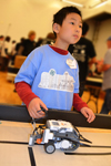 4H robotics club member competes at Robotics Competition