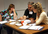 Middle School science teachers at iRISE workshop.