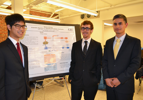Team of students who worked on the Anerobic Digestion project.