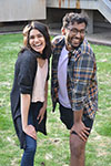 Megha Mattikalli and Rishin Pandit