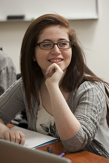 Amy Doroff when she was a student at <em> Illinois</em>. (Photo courtesy of <em> Illinois</em> College of Engineering)