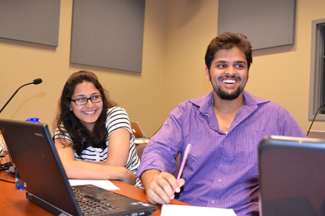 Blue Waters interns enjoy a workshop on parallel computing