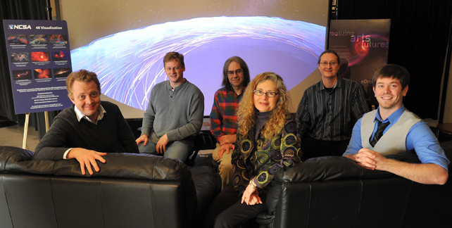 The Advanced Visualization Lab team.